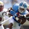 Photo -   North Carolina's Giovani Bernard (26) rushes for a six-yard touchdown in the first quarter against Elon in an NCAA college football game, Saturday Sept. 1, 2012, at Kenan Stadium in Chapel Hill, N.C. (AP Photo/The News & Observer, Robert Willett) MANDATORY CREDIT