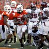 Kendall Hunter\'s success in balancing OSU\'s offense could be key against Texas A&M.