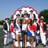 Sons of the American Revolution members who participated in the July 4 parade in Edmond included, back row,from left, Mike Sanford, Ron Schroff and Cory Shipman. Middle row: past president Wayne Nash and Howard Ferrell Front row: president Martin Reynolds, Al Lankford, Henry Baer, past president Glen Fast and Miss Oklahoma Outstanding Teen Ashton Vincent, Miss Edmond LibertyFest Outstanding Teen Joei Whisenant and Miss Edmond LibertyFest Queen Veronica Wisniewski. PHOTO PROVIDED