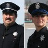 This combo made from undated photos provided by the Santa Cruz Police Department shows Santa Cruz police Sgt. Loran