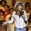 Sarah White performs a solo during Cimarron Middle School\'s Spring Concert May 16. The concert had a Hee Haw theme. Community Photo By: Lisa Hoke Submitted By: Doug, Edmond