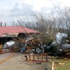 A home in Athens, Ala., was heavily damaged by a strong storm that swept through the area Friday, March 2, 2012. A reported tornado destroyed several houses in northern Alabama as storms threatened more twisters across the region Friday. (AP Photo/The News Courier, Jean Cole) ORG XMIT: ALATH103