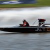 Mike Allbright races down the course during the Oklahoma City Nationals Drag Boat races on the Oklahoma River Saturday, June 9th, 2012. PHOTO BY HUGH SCOTT, FOR THE OKLAHOMAN ORG XMIT: KOD
