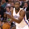 OKLAHOMA CITY THUNDER / PORTLAND TRAIL BLAZERS / NBA BASKETBALL Oklahoma City Thunder guard James Harden during the Thunder - Portland game November 1, 2009 in the Ford Center in Oklahoma City. BY HUGH SCOTT, THE OKLAHOMAN ORG XMIT: KOD