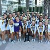 Photo -  Members of the UCO cheer all-girl team won honors at the National Cheerleaders Association and National Dance Alliance College Nationals. PHOTO PROVIDED  <strong></strong>