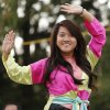 Kathy Bui, 22, a dancer with GDPT Vien Minh Buddhist Center during the Tet Trung Thu Moon Festival at Will Rogers Park amphitheater Sunday, September 29, 2013. Photo by Doug Hoke, The Oklahoman