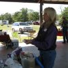 OETRA President Teri Wyatt demonstrates what should be in your trail riding first aid kit during last year\'s Horse Camping 101 Clinic. (Photo provided)