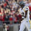 West Virginia\'s Geno Smith walks off the field against Texas Tech after failing to make a first down during an NCAA college football game in Lubbock, Texas, Saturday, Oct. 13, 2012. (AP Photo/Lubbock Avalanche-Journal, Stephen Spillman) LOCAL TV OUT