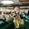 People listen to a lecture during a forum on Women in Islam at the Islamic Society of Greater Oklahoma City, 3815 N St Clair Avenue, in Oklahoma City, Tuesday, August, 14, 2007. By Nate Billings, The Oklahoman