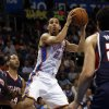 Oklahoma City Thunder\'s Kevin Martin (23) shoots as the Oklahoma City Thunder play the Atlanta Hawks in NBA basketball at the Chesapeake Energy Arena in Oklahoma City, on Sunday, Nov. 4, 2012. Photo by Steve Sisney, The Oklahoman