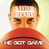 ALBUM COVER / XAVIER HENRY - HE GOT GAME GRAPHIC WITH PHOTO: All-State basketball player Xavier Henry. from Putnam City High School, poses for a photo recreating the album cover for Public Enemy\'s