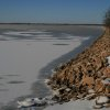Lake Overholser after winter storm of 2007 Community Photo By: Cindi Tennison Submitted By: Cindi , Bethany