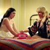 This film image released by Focus Features shows Lauren Miller as Lauren, left, and Ari Graynor as Katie in a scene from