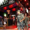 Mexican navy marines patrol the nightclub section as Spring Break revelers enjoy in the resort city of Cancun, Mexico, early Tuesday Feb. 26, 2013. Cancun is one of the No. 1 foreign destination for U.S. college students wanting to enjoy Spring Break. (AP Photo/Israel Leal)