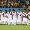Photo - Costa Rica players watch the penalty shootout after regulation time during the World Cup round of 16 soccer match between Costa Rica and Greece at the Arena Pernambuco in Recife, Brazil, Sunday, June 29, 2014. Costa Rica defeated Greece 5-3 in penalty shootouts after a 1-1 tie. (AP Photo/Petr David Josek)