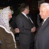 "Photo - FILE - In this Oct. 21, 1998 file photo, Israeli Foreign Minister Ariel Sharon, right, stands near but does not look at, or shake hands with, Palestinian leader Yasser Arafat at Wye Plantation, Maryland. Before becoming a candidate, Sharon proudly boasted he had never shaken hands with Arafat, and called the Palestinian leader a ""murderer and a liar"" in an interview with the New Yorker magazine. Sharon, the hard-charging Israeli general and prime minister who was admired and hated for his battlefield exploits and ambitions to reshape the Middle East, died Saturday, Jan. 11, 2014. The 85-year-old Sharon had been in a coma since a debilitating stroke eight years ago. (AP Photo/Israel Government Press Office, File)"