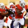 OSU\'s Joseph Randle (1) carries the ball for a touchdown in the first quarter during a college football game between Oklahoma State University (OSU) and Savannah State University at Boone Pickens Stadium in Stillwater, Okla., Saturday, Sept. 1, 2012. Photo by Nate Billings, The Oklahoman