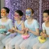 Ballerinas rest after dancing at the opening ceremony of the Children\'s Atrium at OU Children\'s Physicians and Children\'s Hospital in Oklahoma City, OK, Tuesday, March 22, 2011. By Paul Hellstern, The Oklahoman