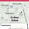 Photo - Graphic:  Map of Graham School
