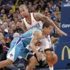 Oklahoma City Thunder\'s Eric Maynor (6) defends on New Orleans Hornets\' Brian Roberts (22) during the NBA basketball game between the Oklahoma CIty Thunder and the New Orleans Hornets at the Chesapeake Energy Arena on Wednesday, Dec. 12, 2012, in Oklahoma City, Okla. Photo by Chris Landsberger, The Oklahoman