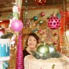 Barbara Demarest of Kingston is showroom manager for North Star by Premier, a Christmas decor store in the World Trade Center in Dallas. Photo by Susan Simpson, The Oklahoman