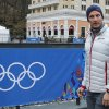Norway\'s Aksel Lund Svindal takes a walk through the streets of the Rosa Khutor ski resort in Krasnaya Polyana, Russia at the Sochi 2014 Winter Olympics, Monday, Feb. 17, 2014. Svindal is leaving the Olympics because he has problems with allergies and fatigue, the Norwegian men\'s Alpine skiing coach said Monday. (AP Photo/Christophe Ena)