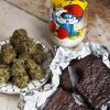 Photo - This undated image provided by Elise McDonough via Chronicle Books shows brownies made from a recipe in the