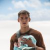 """Photo -  This image released by The Weinstein Co. shows Brenton Thwaites in a scene from """"The Giver."""" AP Photo    -  AP"""