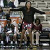 FILE - In this Nov. 15, 2012 file photo, UAB head coach Audra Smith yells to her players in the first half of an NCAA college basketball game against Vanderbilt in Nashville, Tenn. Clemson has hired UAB\'s Audra Smith as its new women\'s basketball coach. A person familiar with the situation spoke to The Associated Press Monday, April 8, 2013, on condition of anonymity because Clemson has not officially announced Smith\'s hiring. (AP Photo/Mark Humphrey, File)