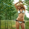 Rosebrook Vineyards, Oklahoma City Swimsuit from L.A. Sun & Sport Photos by Chris Landsberger Vote for your favorite model now