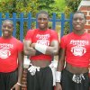 Photo - The Curry brothers: Justin, Darius and C.J.. PHOTO PROVIDED
