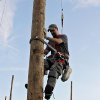 Photo -  Pole Climbing Photographer