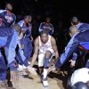 OKC\'s Kevin Durant makes his way to the court during team introductions before the start of the preseason NBA basketball game between the Oklahoma City Thunder and the Memphis Grizzlies on Tuesday, Oct. 12, 2010, in Tulsa, Okla. Photo by Chris Landsberger, The Oklahoman