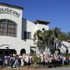 Photo -   Hundreds of people line up outside of the Coliseum in St. Petersburg, Fla., waiting to hear former President Bill Clinton speak at a campaign event for Barack Obama, Friday Nov. 2. 2012. (AP Photo/Scott Iskowitz)