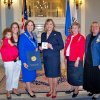Governor Mary Fallin Gives Constitution Week Proclamatin to DAR