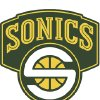 Photo - SEATTLE SUPERSONICS / SEATTLE SONICS / NBA BASKETBALL TEAM / LOGO / GRAPHIC