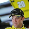 Photo - Driver Matt Kenseth stands in the garage area before practice for Sunday's Aaron's 499 NASCAR auto race at Talladega Superspeedway on Friday, May 2, 2014, in Talladega, Ala. (AP Photo/Rainier Ehrhardt)