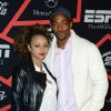 Photo - Actor Anthony Mackie, right, and Sheletta Chapital arrive at ESPN The Magazine's