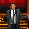 Jon Cryer accepts the award for outstanding lead actor in a comedy series for