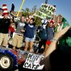 Students ride on a float during the Edmond North High School Homecoming Parade in downtown Edmond, Okla., on Wednesday, October 3, 2007. By Bryan Terry, The Oklahoman