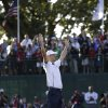 Europe\'s Martin Kaymer celebrates after winning the Ryder Cup PGA golf tournament Sunday, Sept. 30, 2012, at the Medinah Country Club in Medinah, Ill. (AP Photo/David J. Phillip) ORG XMIT: PGA206