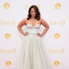 Dascha Polanco arrives at the 66th Annual Primetime Emmy Awards at the Nokia Theatre L.A. Live on Monday, Aug. 25, 2014, in Los Angeles. (Photo by Jordan Strauss/Invision/AP)