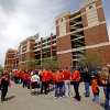 Oklahoma State\'s fans line up before the OSU spring football game at Boone Pickens Stadium in Stillwater, Okla., Sat., April 20, 2013. Photo by Bryan Terry, The Oklahoman