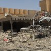 This photo taken on Tuesday, July 1, 2014, shows damages of a home after clashes between fighters of the al-Qaida-inspired Islamic State of Iraq and the Levant and Iraqi security forces in Tikrit, 80 miles (130 kilometers) north of Baghdad, Iraq. The Islamic State of Iraq and the Levant announced this week that it has unilaterally established a caliphate in the areas under its control. It declared the group\'s leader, Abu Bakr al-Baghdadi, the head of its new self-styled state governed by Shariah law and demanded that all Muslims pledge allegiance to him. (AP Photo)