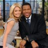 Photo -   This Feb. 8, 2012 photo shows former football player Michael Strahan, right, and host Kelly Ripa during Strahan's guest-host appearance on