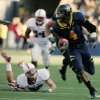 Photo - California running back Jahvid Best runs for a 45-yard touchdown against Stanford in the second half of an NCAA college football game in Berkeley, Calif., Saturday, Nov. 22, 2008. California won 37-16. (AP Photo/Marcio Jose Sanchez) ORG XMIT: CAMS107