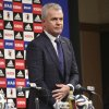 Photo - Japan's new soccer coach Javier Aguirre arrives for a press conference in Tokyo, Monday, Aug. 11, 2014. The 55-year-old Aguirre will take the reins for the Japanese side, with his first match at the helm starting with a friendly against Uruguay at Sapporo Dome on Sept. 5. (AP Photo/Koji Sasahara)