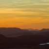 Sunset from Mt. Scott in the Wichita Mountains. Photo by Lindell Dillon