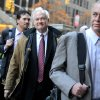 Photo -   NHL Players' Association executive director Donald Fehr, center, arrives for labor talks at NHL headquarters in New York with his brother, NHLPA counsel Steven Fehr, right, Wednesday, Nov. 21, 2012, in New York. (AP Photo/ Louis Lanzano)