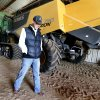 Wheat farmer Zac Harris walks past hundreds of thousands of dollars worth of harvesting equipment and will wait for appraisers to examine freeze damage on his crop to know if it will be needed on Friday, April 19, 2013 in Hobart, Okla. Photo by Steve Sisney, The Oklahoman